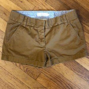 Jcrew chino shorts size 4